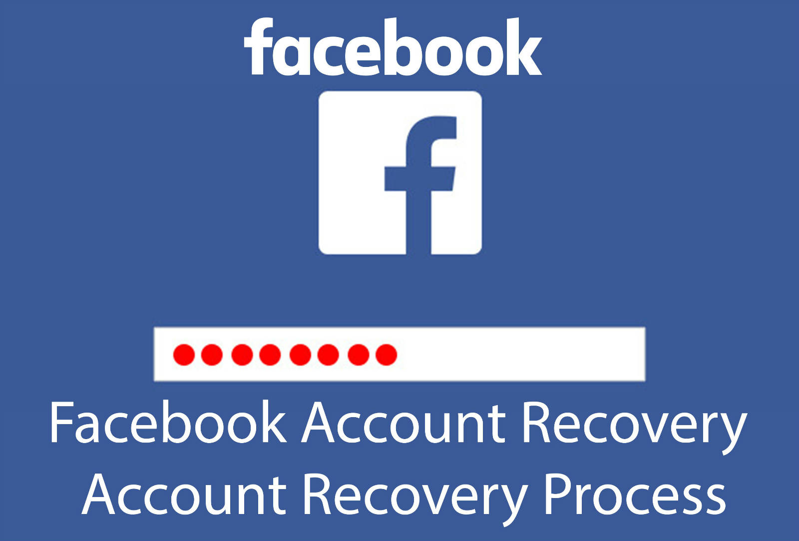 FACEBOOK Account Password Recovery Not Working