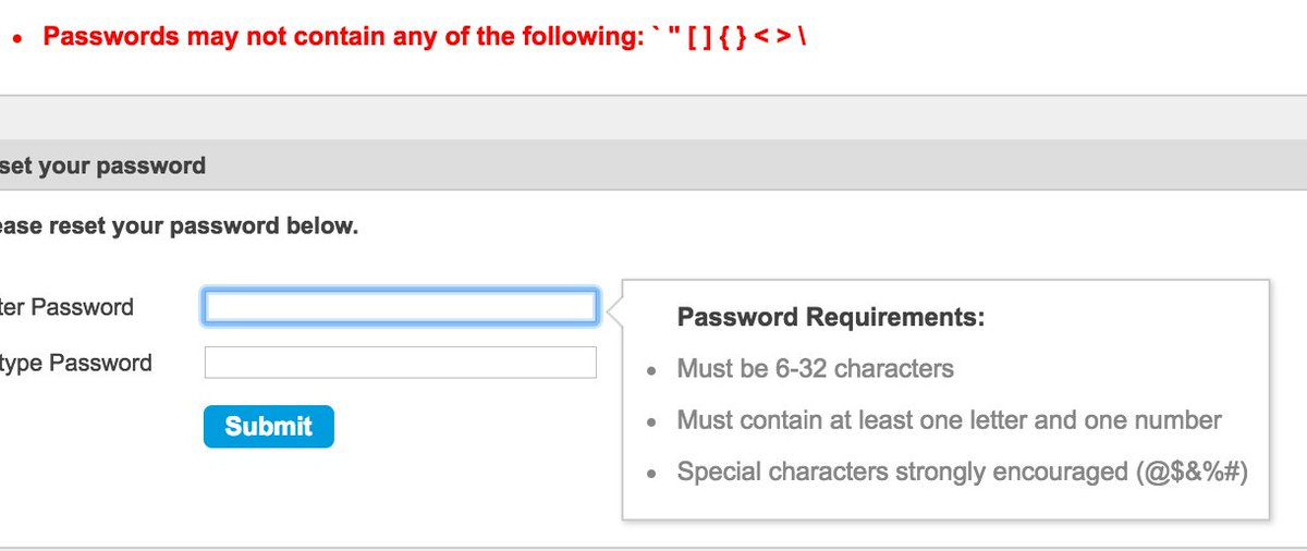 TICKETMASTER Account Password Recovery Not Working